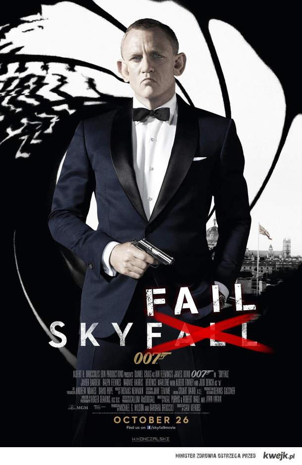 Nowy plakat Bonda