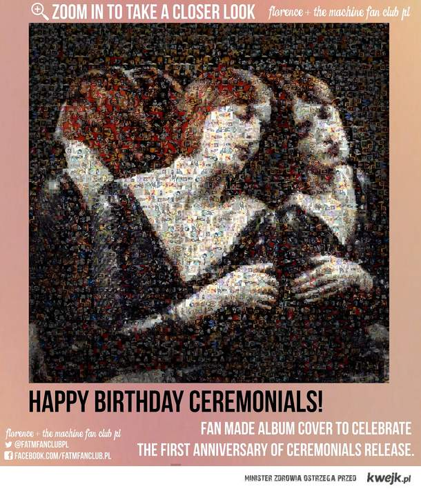 Fan Made Ceremonials Cover (Florence + The Machine) - First Anniversary