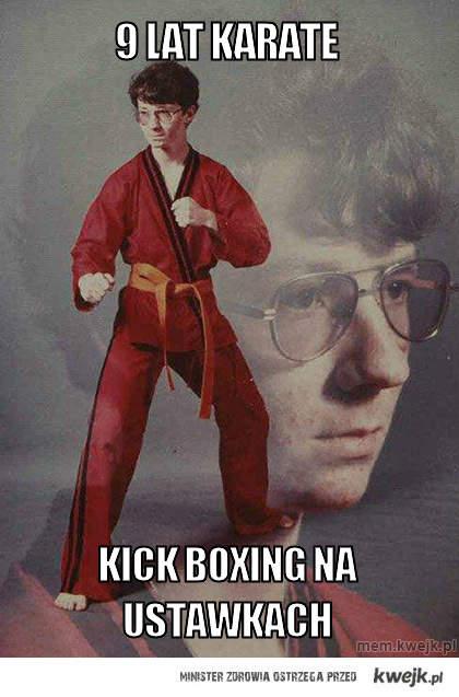 9 lat karate