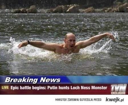 Putin rozpoczyna polowanie