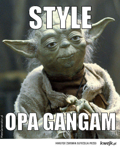Yoda gangam style