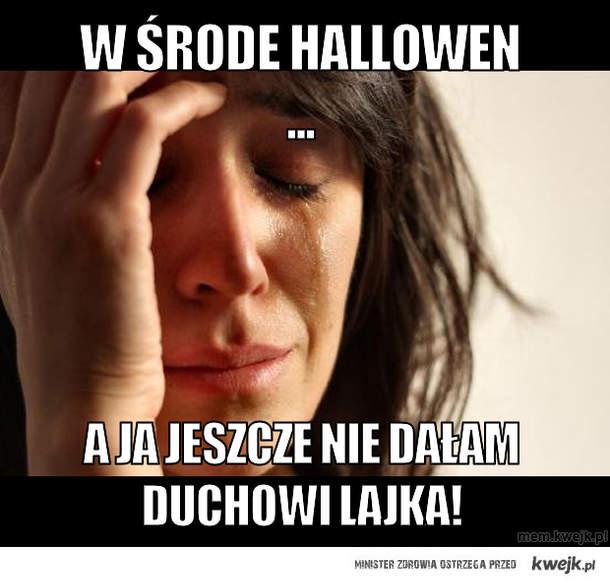 W środe hallowen ...