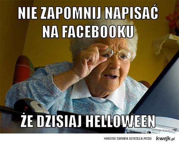 Nie zapomnij napisać na facebooku