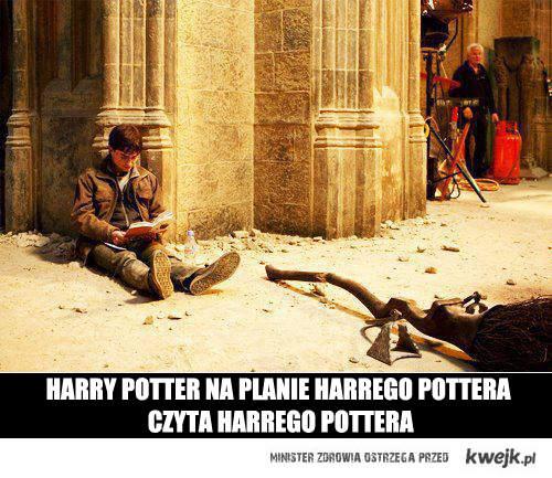 Harry czyta Harrego