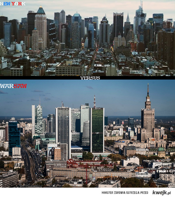 Warszawa kontra Nowy Jork