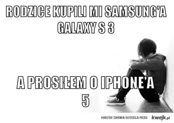 Rodzice kupili mi samsung'a Galaxy S 3