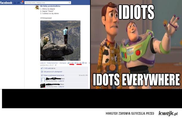 facebook idiots
