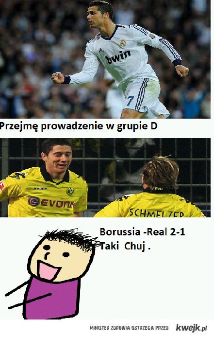 Taki chuj  Real -Borussia