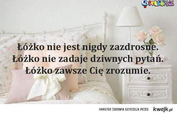 moje łóżko