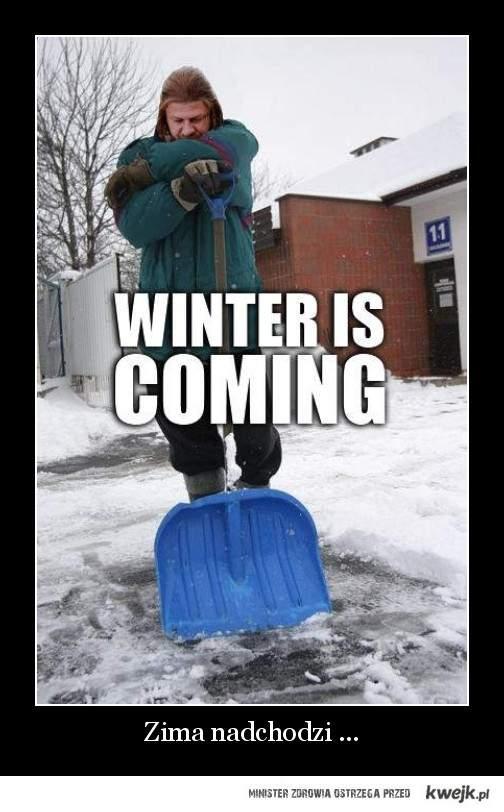 zima nadchodzi..