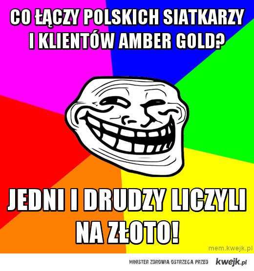 Co łączy polskich siatkarzy i klientów Amber Gold?