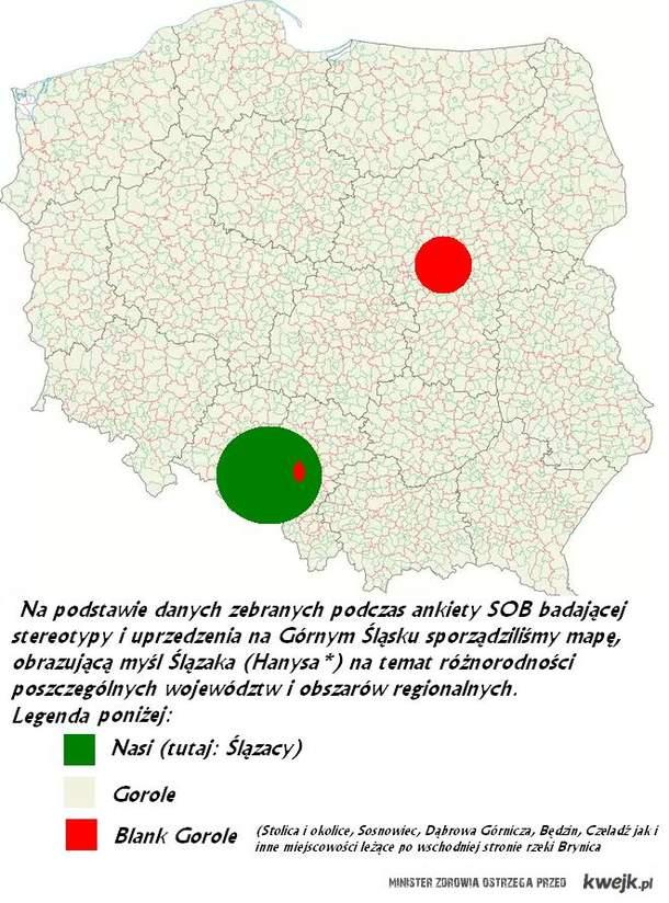 Polska wg. Ślązaków