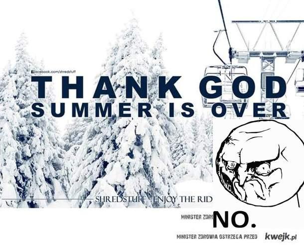 Zimie mówimy stanowcze NO : )