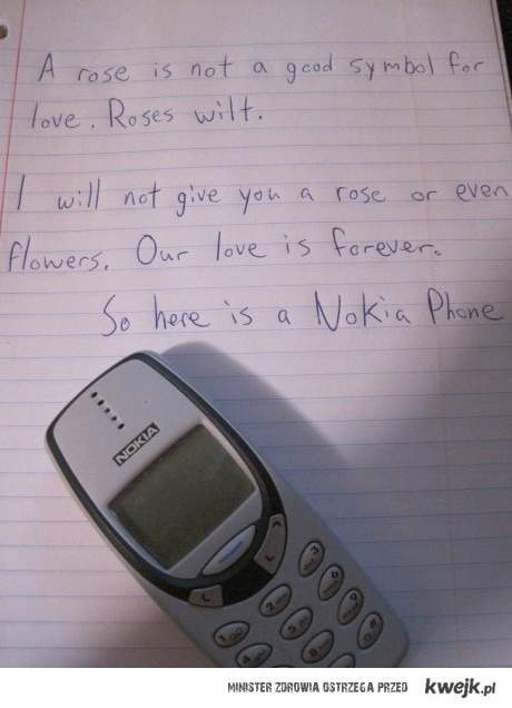 Love and nokia