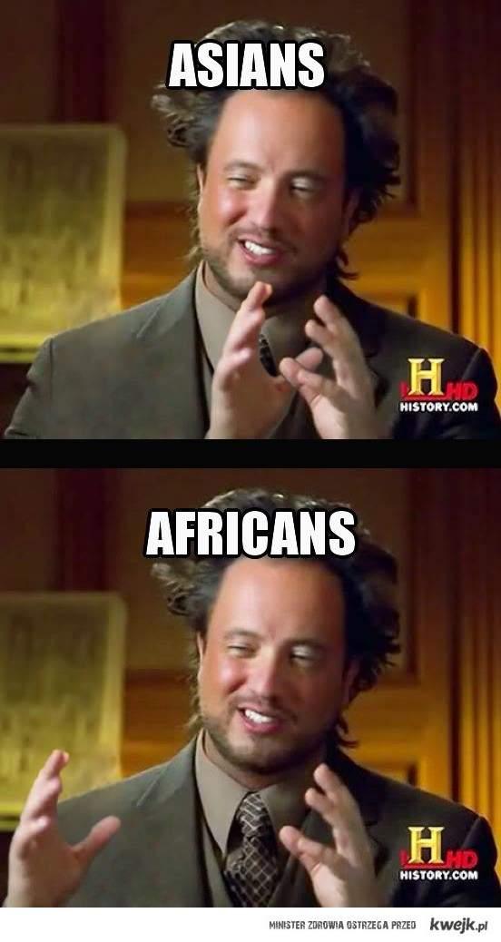 Asians vs Africans
