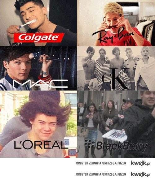 One Direction reklamują
