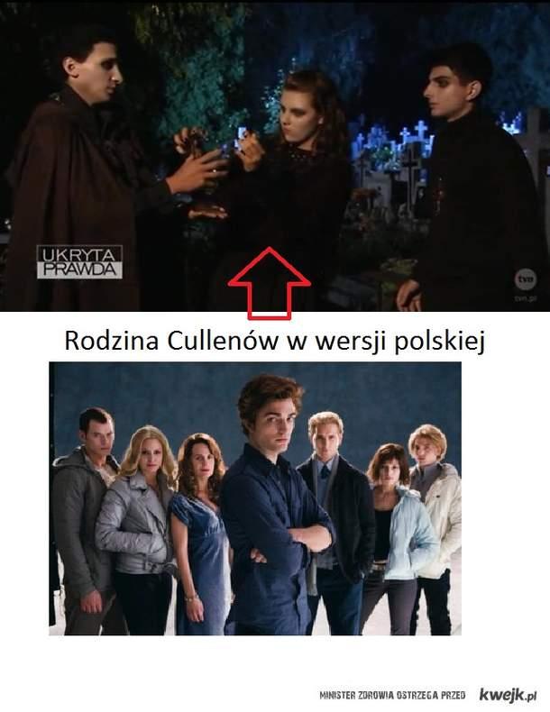 cullenowie w wersji polskiej