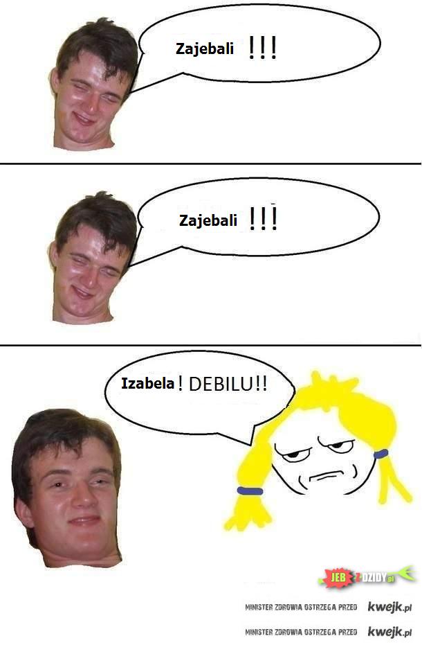 Zajebali - Izabela