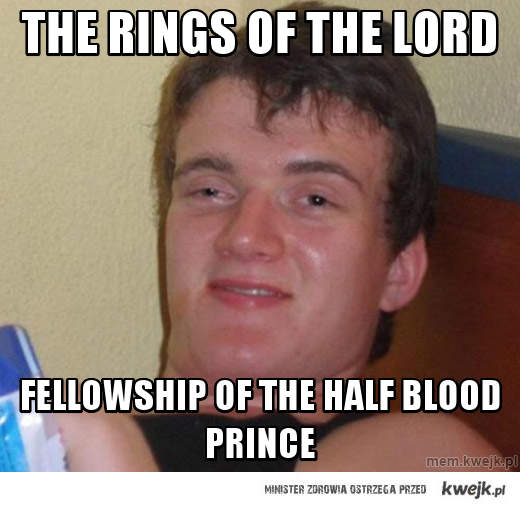 The rings of the lord