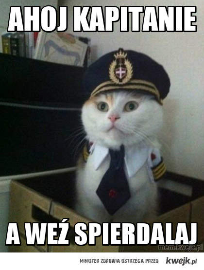 Ahoj kapitanie