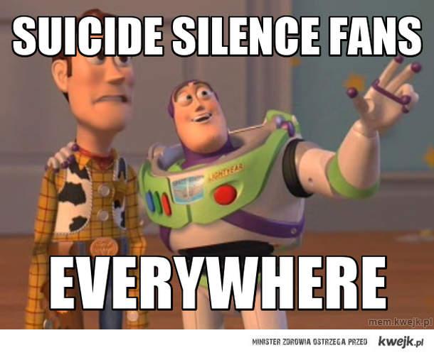 Suicide Silence fans
