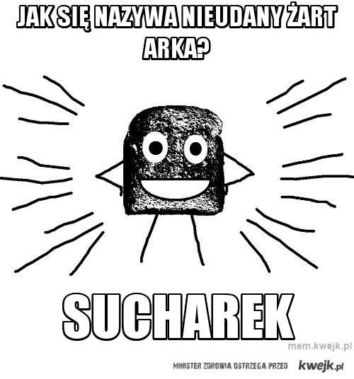 Jak się nazywa nieudany żart arka?