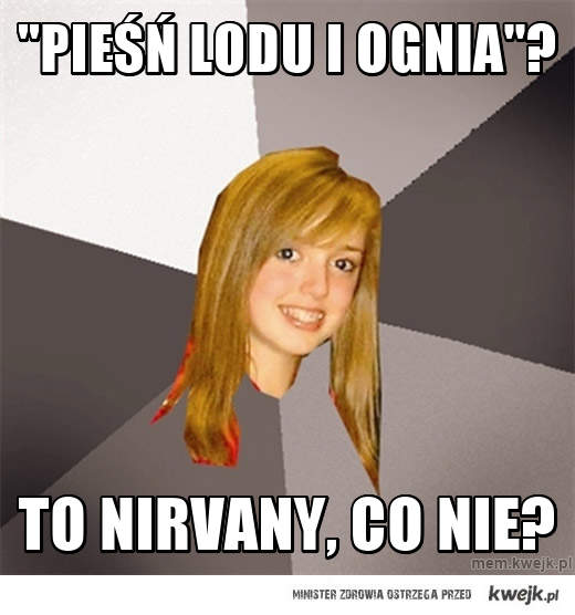 """""""Pieśń Lodu i Ognia""""?"""