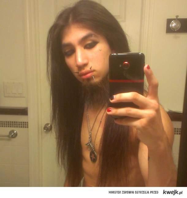 ciekawe jak wyhodowala taka brode / gaymetal