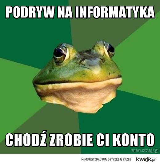 podryw na informatyka