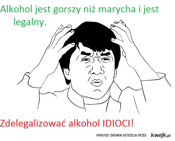 marycha i alkohol