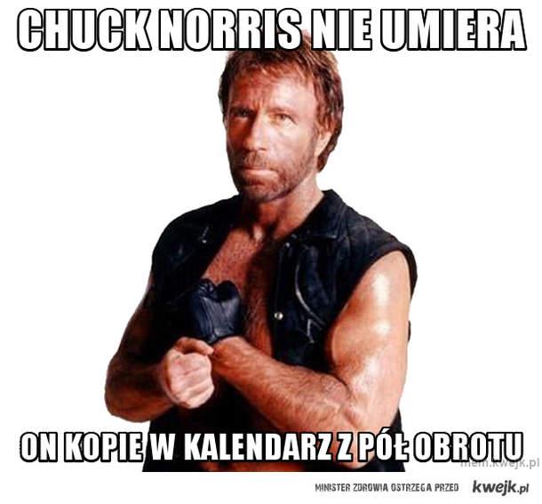 chuck norris nie umiera