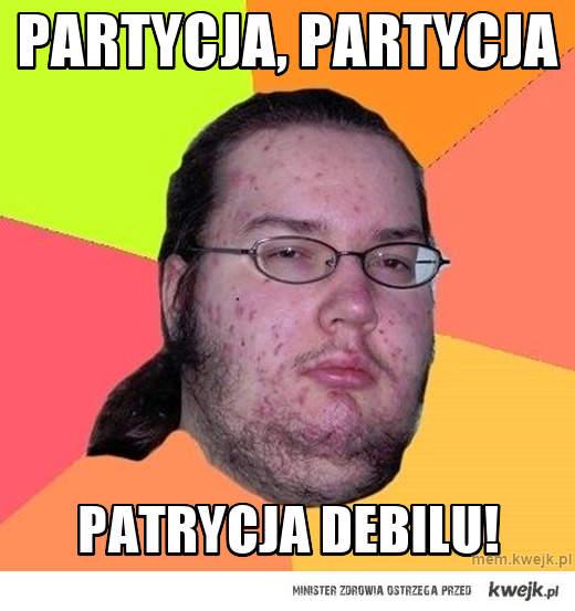 PARTYCJA, PARTYCJA