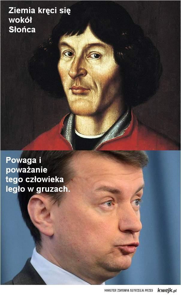 Błaszczak o Mikołaju Koperniku