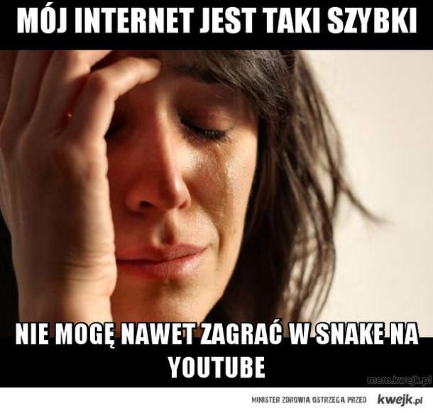 mój internet jest taki szybki