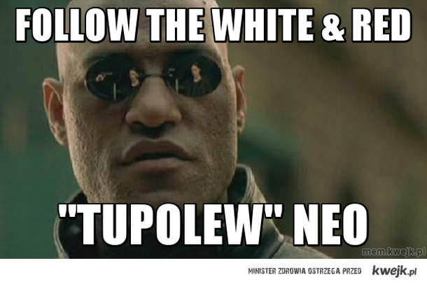 follow the white & red