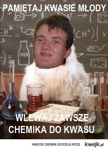 zjarany chemik