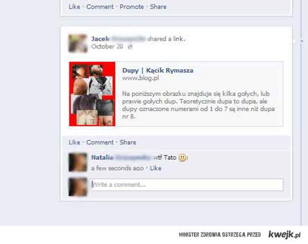 Tata na Facebooku