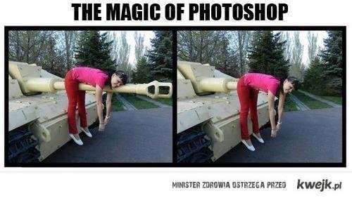magia fotoszopa
