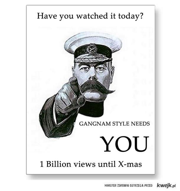 Gangnam Style needs you