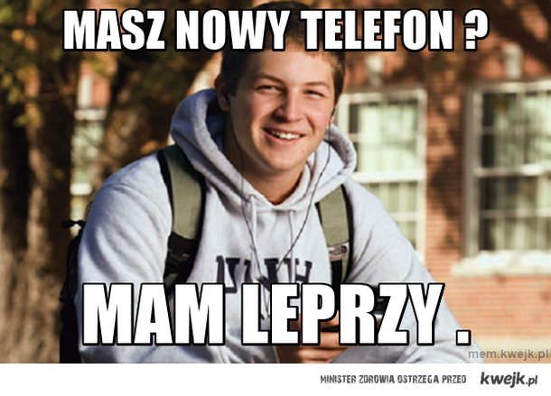 Masz nowy telefon ?
