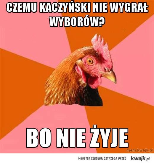 czemu kaczyński nie wygrał wyborów?