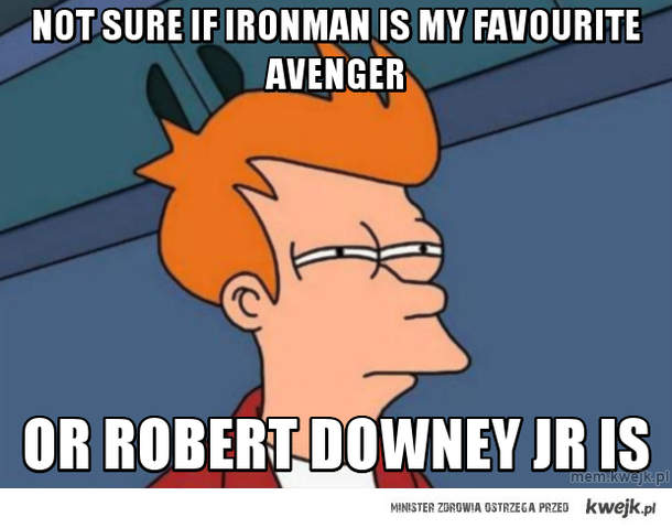 Not sure if ironman is my favourite avenger