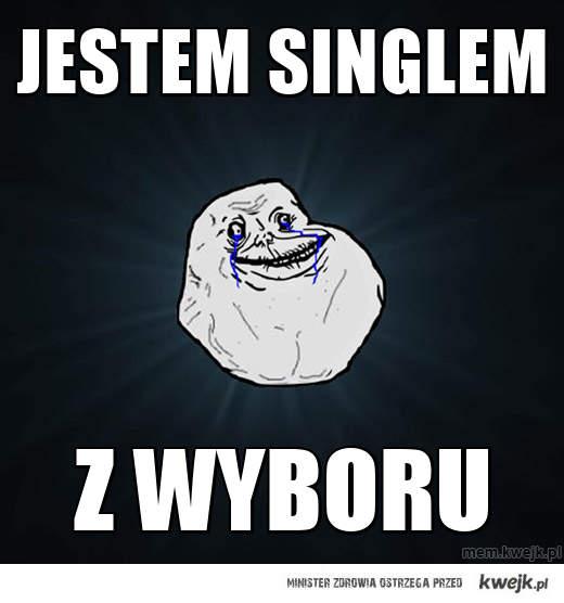 jestem singlem