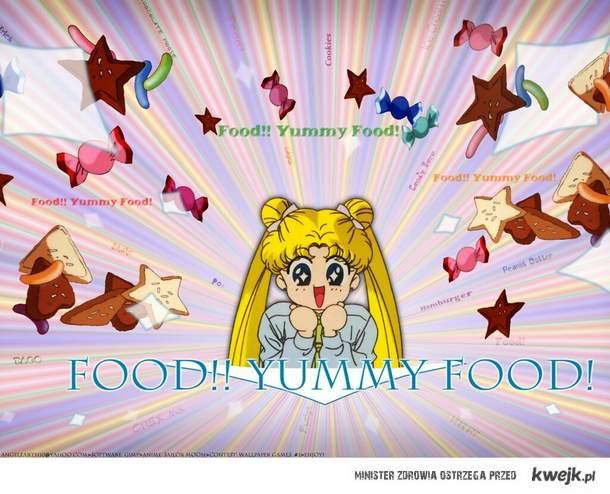 yummy food <3 (sailor moon)