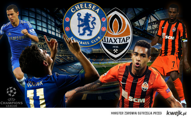 Chelsea vs Shakhtar (UCL)