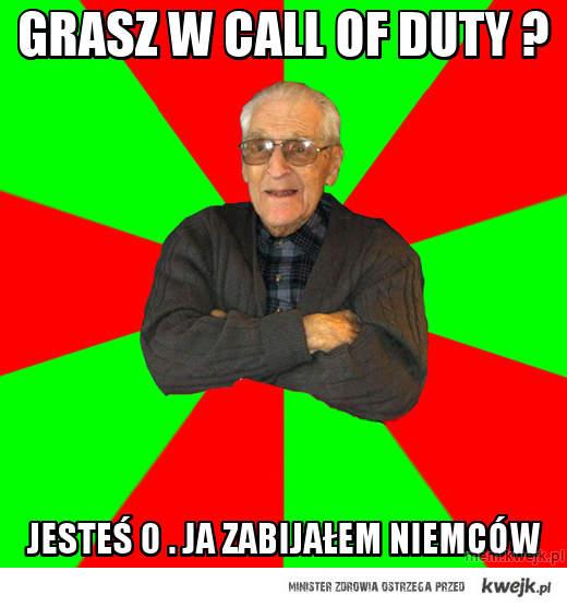 Grasz w call of duty ?