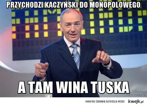 Przychodzi kaczyński do monopolowego