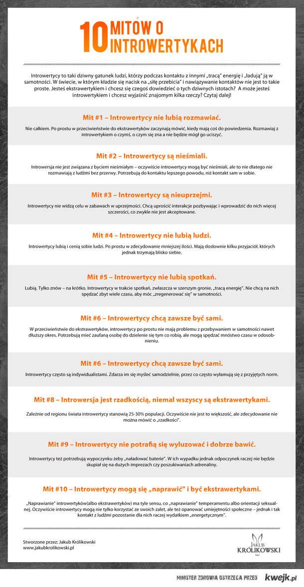 10 Mitów o Introwertykach