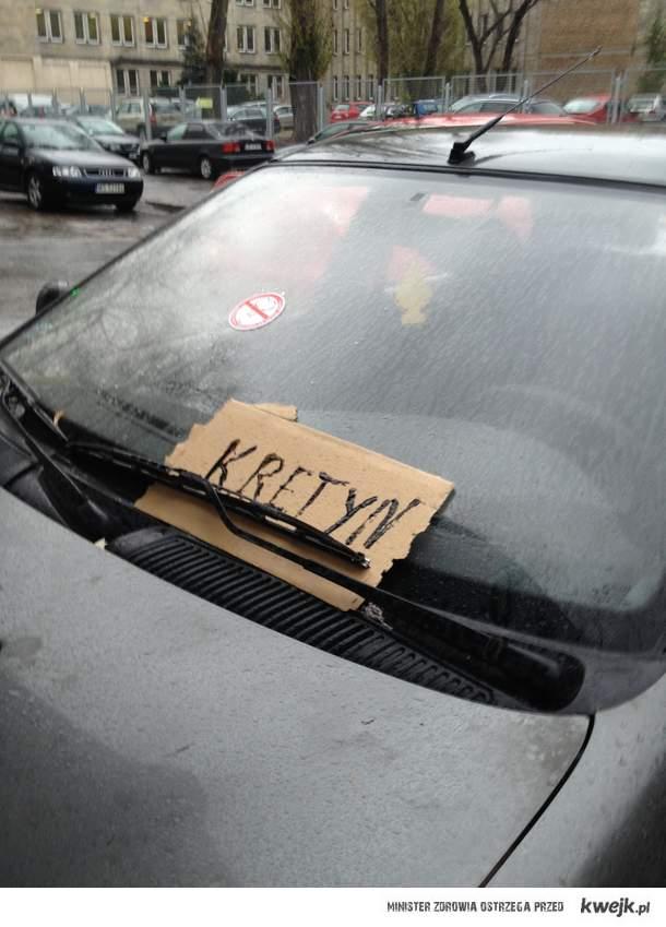 Uważajcie jak parkujecie