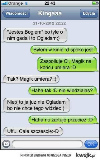 magik umiera